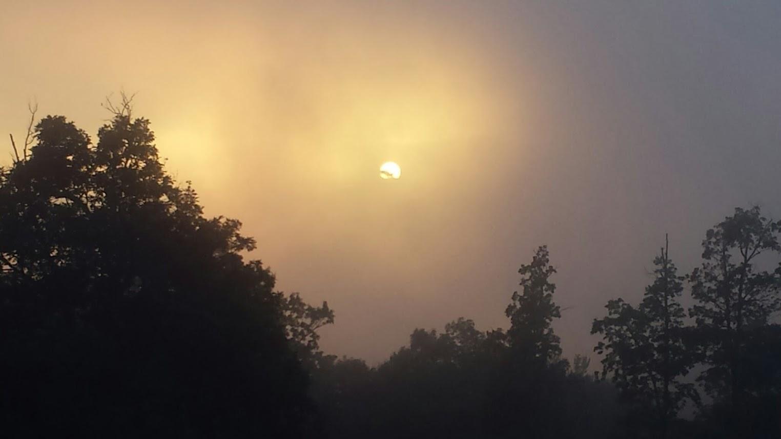 Unique Sunset